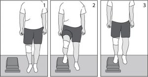 Step-ups, lateral